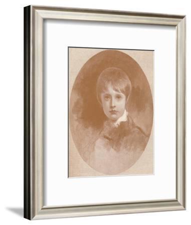 'Napoleon-François-Charles Joseph', 1819, (1896)-M Haider-Framed Giclee Print