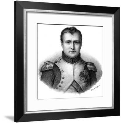 Napoleon I Bonaparte (1769-182), Emperor of France from 1804, C1830- Delpech-Framed Giclee Print