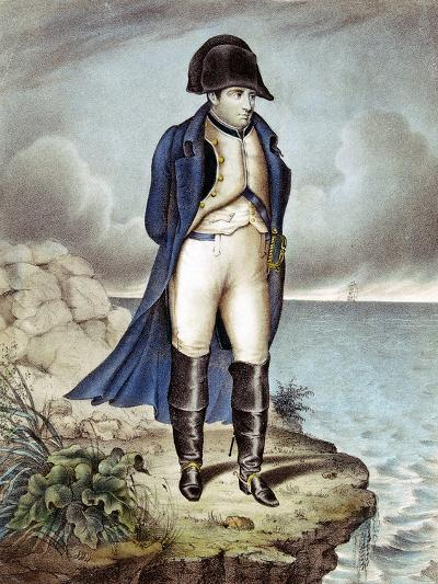 Napoleon I, Emperor of France, in Exile--Giclee Print