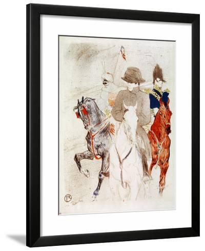 Napoleon I, Emperor-Henri de Toulouse-Lautrec-Framed Giclee Print