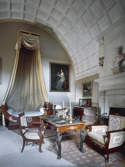 Napoleon I's Bedchamber, with Maria Luisa of Parma's Bust on Fireplace--Photographic Print