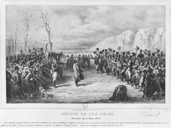 Napoleon I-Joseph-Louis Hippolyte Bellange-Giclee Print