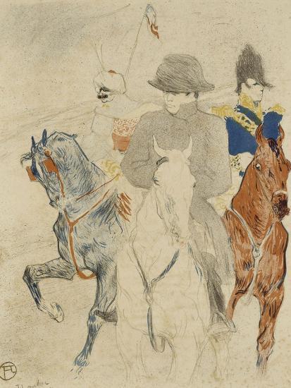 Napoléon Ier à cheval-Henri de Toulouse-Lautrec-Giclee Print