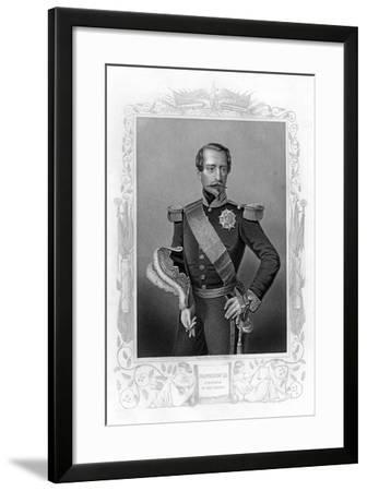 Napoleon III, Emperor of France, 19th Century-DJ Pound-Framed Giclee Print