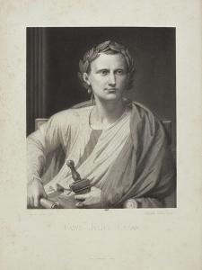 """Napoléon III, """"Histoire de Jules César"""", ouvrage en 2 tomes."""