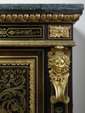 Napoleon III Style Piece Of Furniture With Gilt Bronze And Imitation Boulle  Inlays, France, Detail Giclee Print By | Art.com