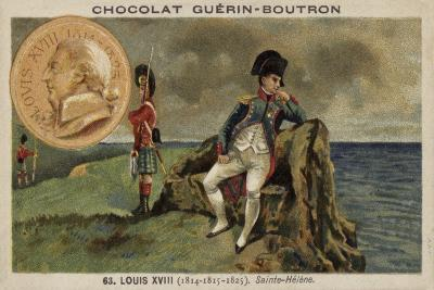 Napoleon in Exile on St Helena--Giclee Print