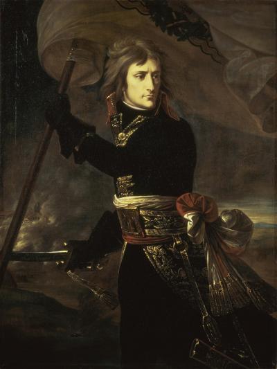 Napoleon on the Bridge at Arcole, c.1797-Antoine-Jean Gros-Giclee Print