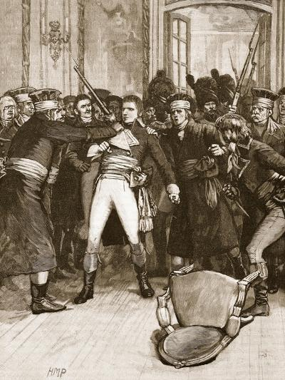 Napoleon's Coup De Main: Scene in the Hall of the Ancients--Giclee Print