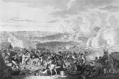 Napoleon's Flight at the Battle of Waterloo, 18 June 1815, 1816-Johann Lorenz Rugendas-Giclee Print