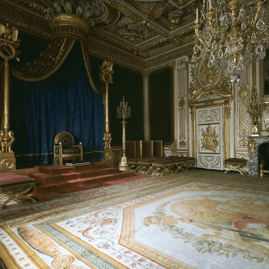 Napoleon's Throne-Room, 19th century-Unknown-Photographic Print