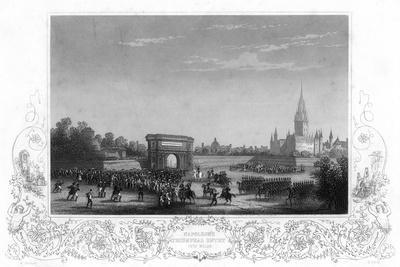 Napoleon's Triumphal Entry into Milan, Italy, C1805-H Bibby-Giclee Print