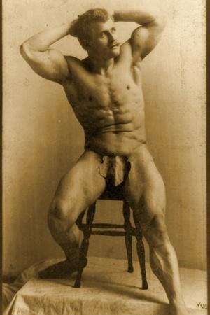 Eugen Sandow, in Classical Ancient Greco-Roman Pose, C.1893