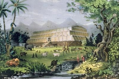 Noah's Ark, Pub. by Currier and Ives, New York