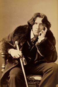 Oscar Wiide, Irish Writer, Wit and Playwright, 1882 by Napoleon Sarony