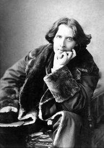 Oscar Wilde in His Favourite Coat, 1882 by Napoleon Sarony