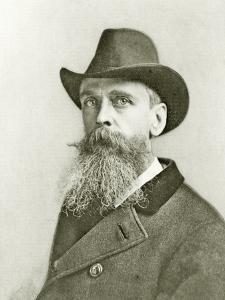 Portrait of Thomas Moran, C.1890 by Napoleon Sarony