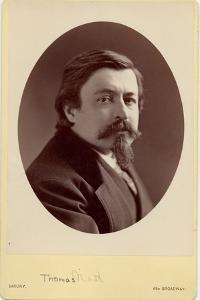 Thomas Nast (1840-1902), American Cartoonist by Napoleon Sarony