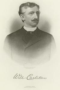 Will Carleton by Napoleon Sarony
