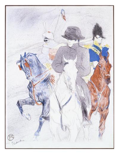 Napoleon-Henri de Toulouse-Lautrec-Giclee Print