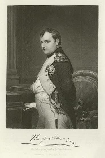 Napoleon-Hippolyte Delaroche-Giclee Print
