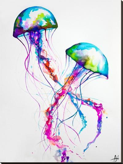 Narasumas Print-Marc Allante-Stretched Canvas Print