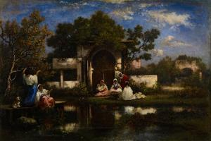 Seraglio, Constantinople, 1865-75 by Narcisse Virgile Diaz de la Pena