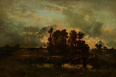 Wet Pasture, C.1870