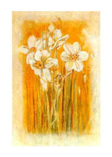 Narcisses II-Laurence David-Art Print