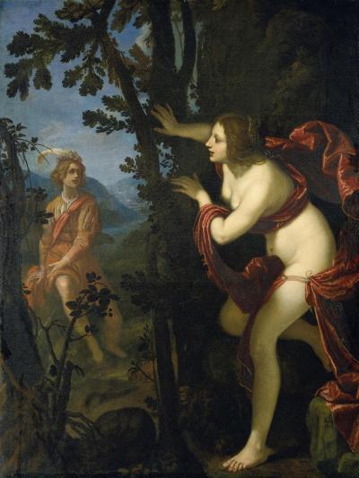 Narcissus and Echo-Giovanni Biliverti-Giclee Print