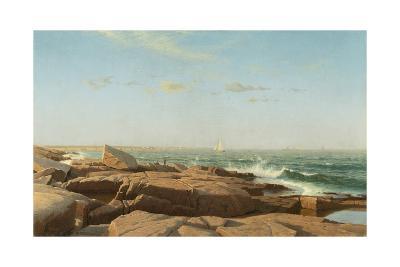 Narragansett Bay, 1864-William Stanley Haseltine-Giclee Print