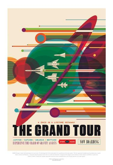 NASA/JPL: Visions Of The Future - Grand Tour--Poster