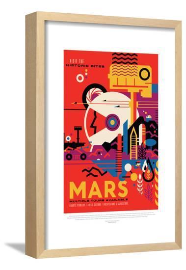 NASA/JPL: Visions Of The Future - Mars--Framed Poster