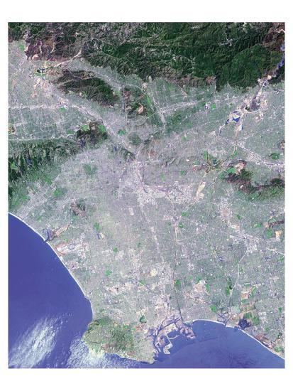 NASA - Los Angeles--Art Print