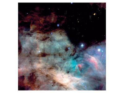 NASA - M17 The Omega Nebula--Art Print