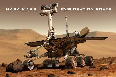 NASA Mars Exploration Rover Sprit Opportunity Photo--Art Print