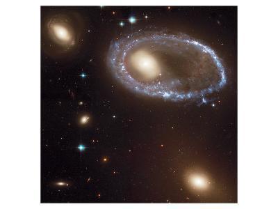 NASA - Ring Galaxy 0644-741--Art Print