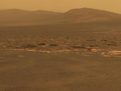 NASA's Mars Exploration Rover 'Opportunity' Recorded This Image on Aug 6, 2011--Photo