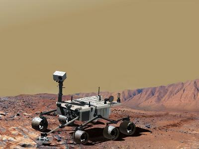 Nasa's Mars Science Laboratory-Stocktrek Images-Photographic Print