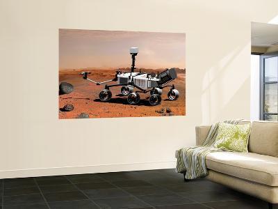 Nasa's Mars Science Laboratory--Wall Mural