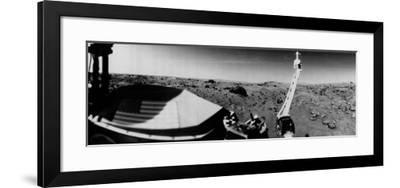 NASA's Viking 1 Beamed Back the First Panoramic View of the Rocky Surface on Mars--Framed Photographic Print