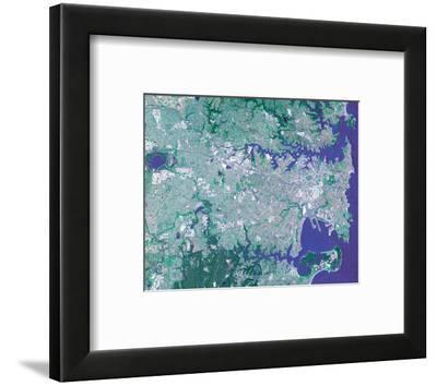 NASA - Sidney--Framed Art Print