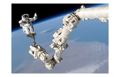 NASA Space Shuttle Arm--Art Print
