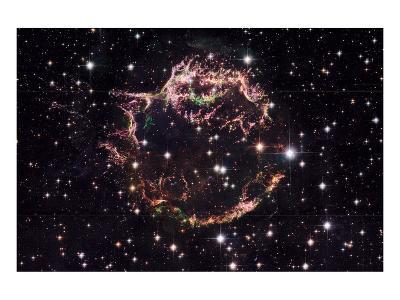 NASA - Supernova Remnant Cassiopeia A--Art Print