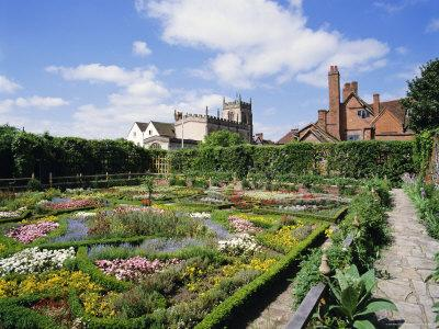 Nash House Gardens, Stratford-Upon-Avon, Warwickshire, England, UK, Europe-Philip Craven-Photographic Print