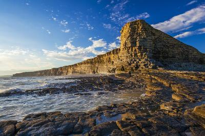 Nash Point, Vale of Glamorgan, Wales, United Kingdom, Europe-Billy Stock-Photographic Print