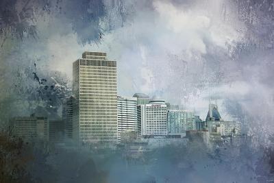 Nashville Tennessee Skyline-Jai Johnson-Giclee Print