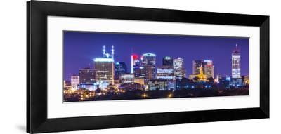 Nashville, Tennessee, USA Downtown Skyline.-SeanPavonePhoto-Framed Photographic Print