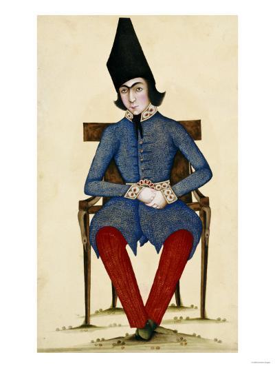 Nasir Al-Din Qajar, as Crown Prince--Giclee Print