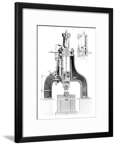 Nasmyth's Steam Hammer, Artwork-Library of Congress-Framed Giclee Print